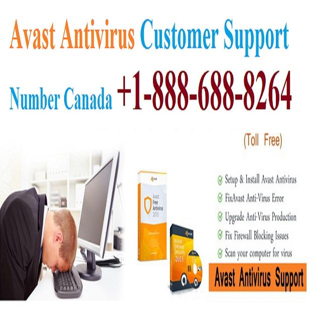Avast Antivirus Customer Support Number Canada