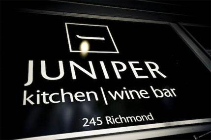Juniper Kitchen & Wine Bar