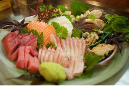 Sashimi for take-out