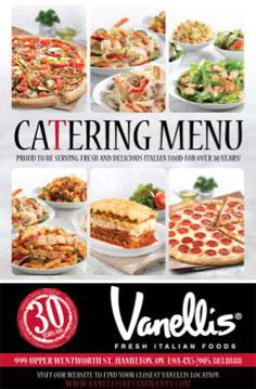Catering - Vanelli's Italian Foods